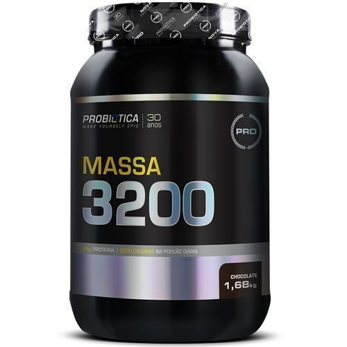 Massa 3200 - 1,68Kg - Probiótica
