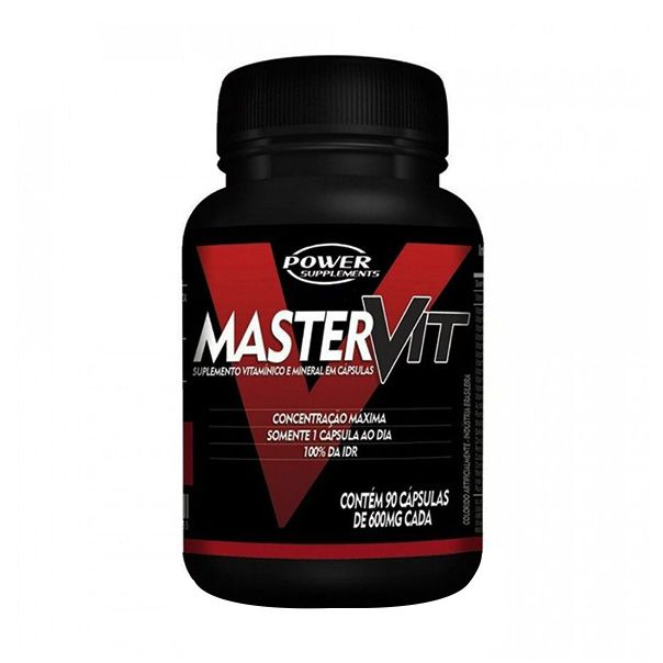 Master Vit - 90 Cápsulas - Power Supplements