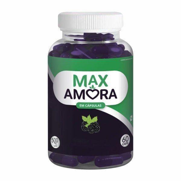Max Amora - 60 Cápsulas
