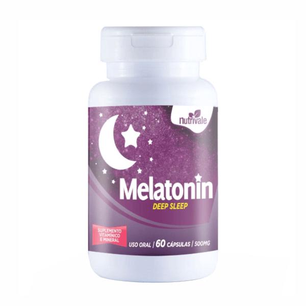 Melatonin - 60 Cápsulas - NutriVale