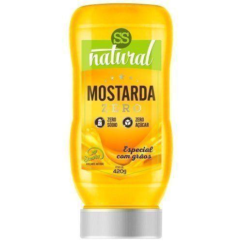 Mostarda Zero - 420g - SS Natural