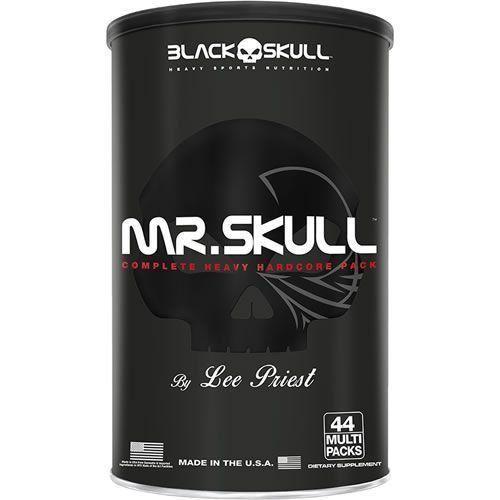 Mr. Skull - 44 Packs - Black Skull