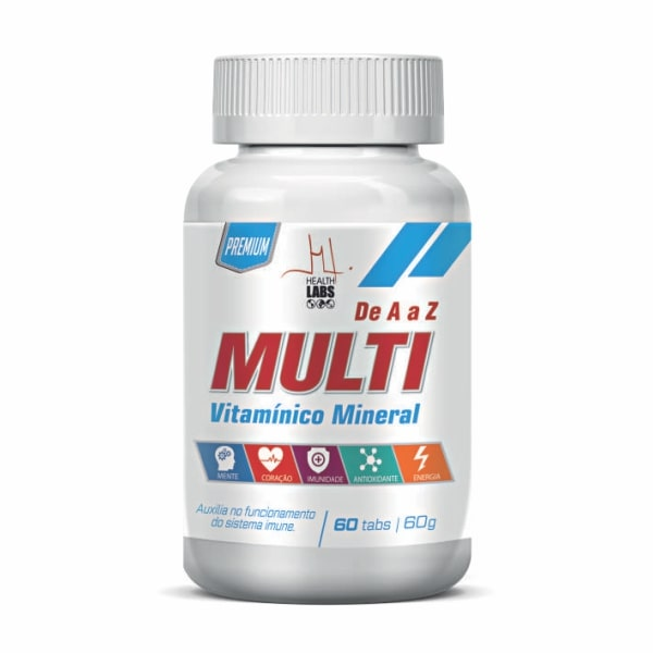 Multi de A a Z Premium - 60 Tabletes - Health Labs