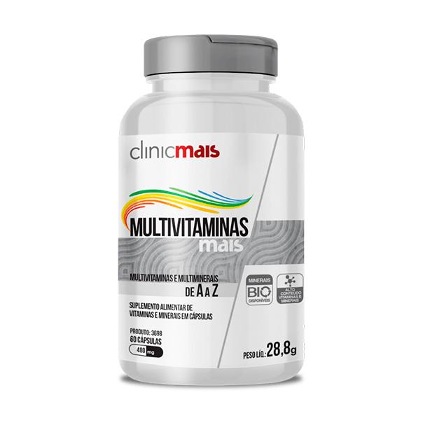 MultiVitmais - 60 Cápsulas - ClinicMais