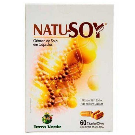 Natu-Soy (Gérmen de Soja) - 60 Cápsulas - Terra Verde