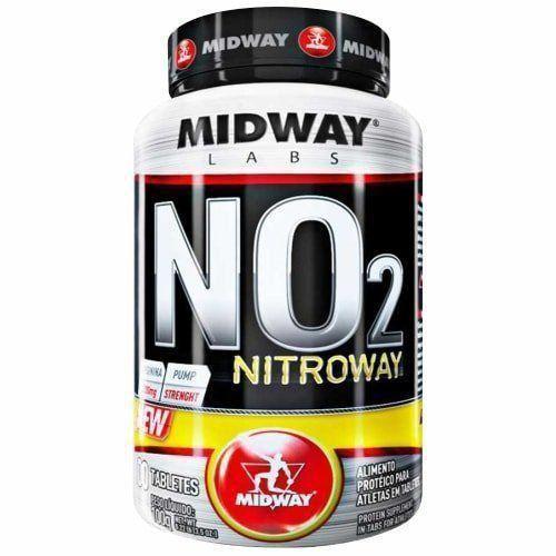 NO2 Nitroway - 100 Tabletes - MidWay