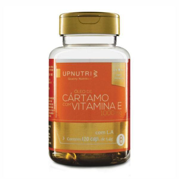 Óleo de Cártamo c/ Vitamina E - 120 Cápsulas - UpNutri
