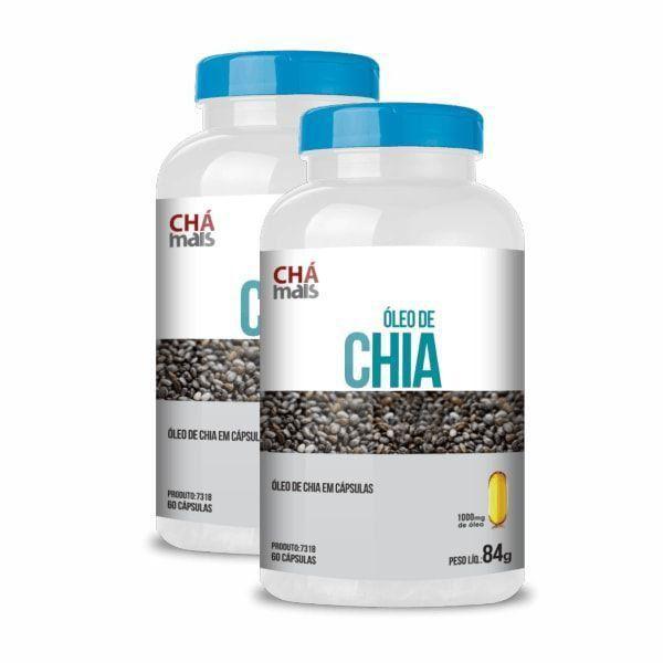 Óleo de Chia - Promoção 2 Unidades - Chá Mais