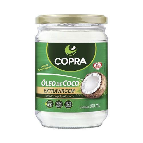 Óleo de Coco Extra Virgem - 500ml - Copra