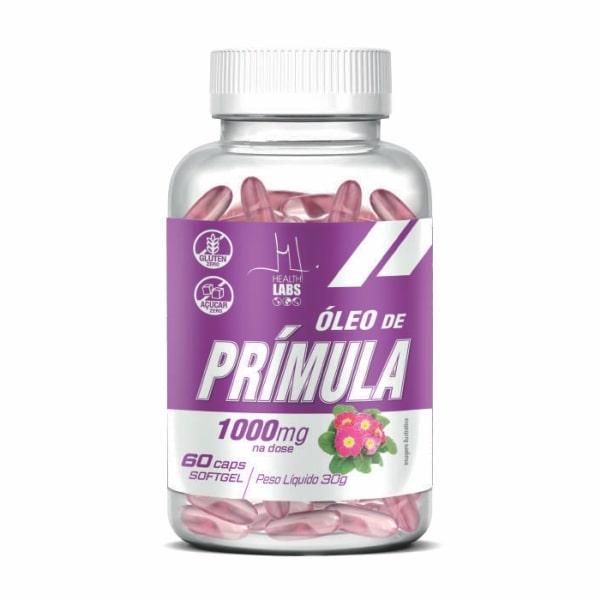 Óleo de Prímula - 60 Cápsulas - Health Labs