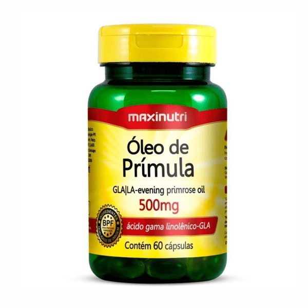 Óleo de Prímula - 60 Cápsulas - Maxinutri