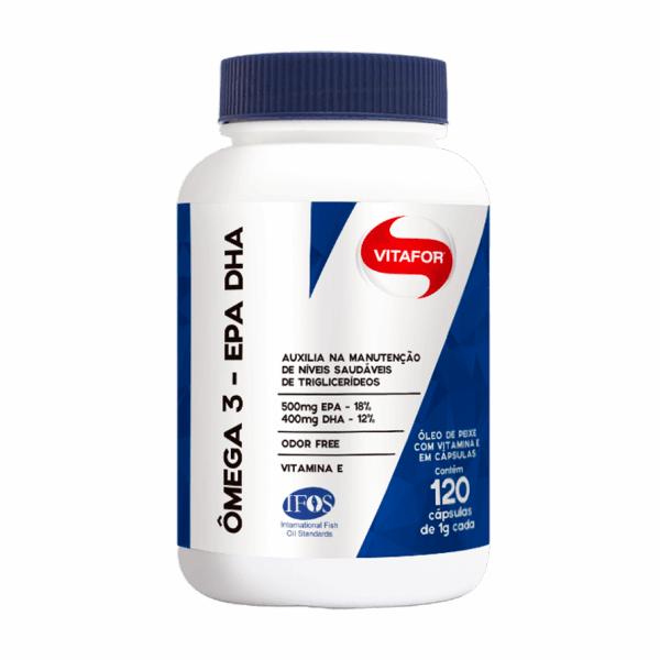 Ômega 3 EPA DHA - 120 Cápsulas - Vitafor
