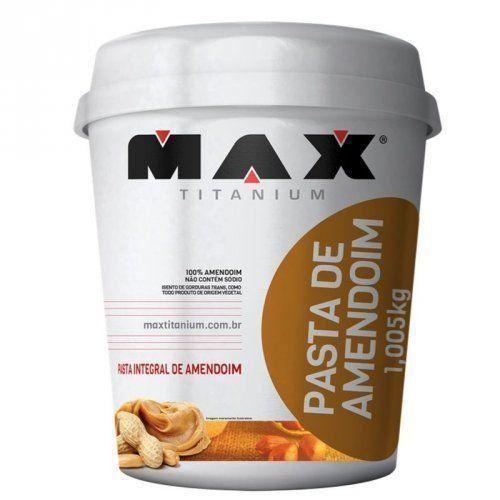 Pasta de Amendoim - 1,005Kg - Max Titanium