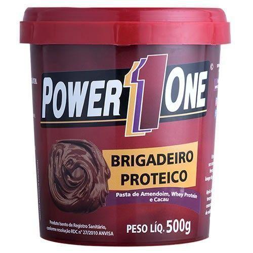 Pasta de Amendoim Brigadeiro Proteico - 500g - Power 1 One