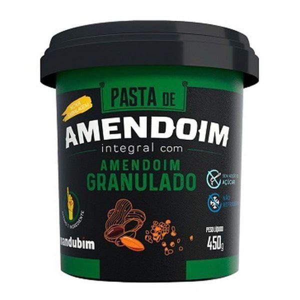 Pasta de Amendoim Integral - 450g - Mandubim