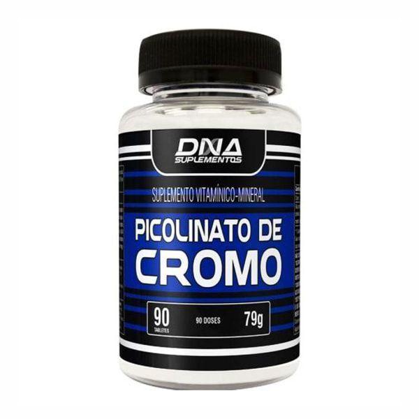 Picolinato de Cromo - 90 Tabletes - DNA