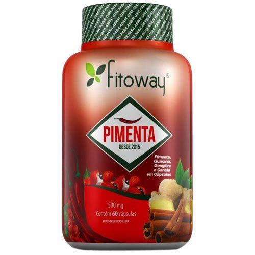 Pimenta - 60 Cápsulas - Fitoway