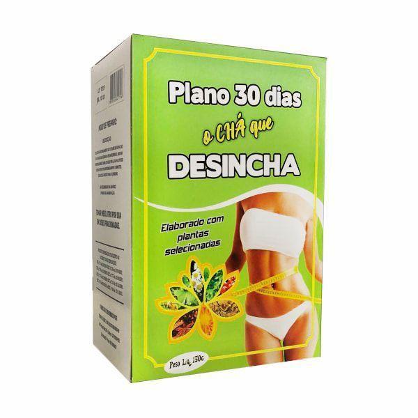 Plano 30 Dias e Chá Desincha - 150g - Terra e Saúde