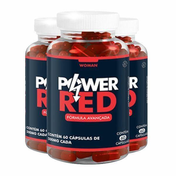 Power Red - Promoção 3 Unidades
