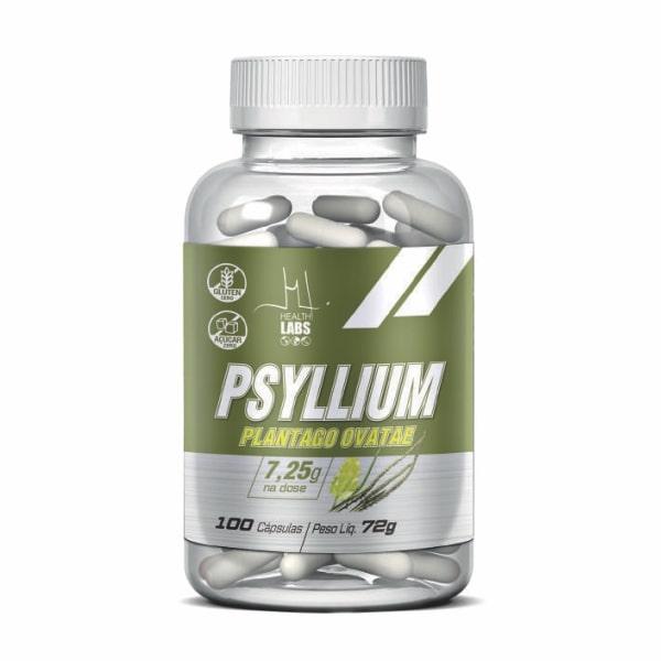 Psyllium - 100 Cápsulas - Health Labs