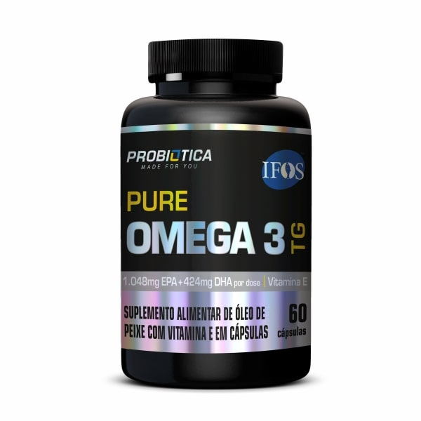 Pure Ômega 3 - 60 Cápsulas - Probiótica