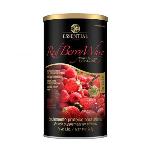 Red Berry Whey - 510g - Essential Nutrition