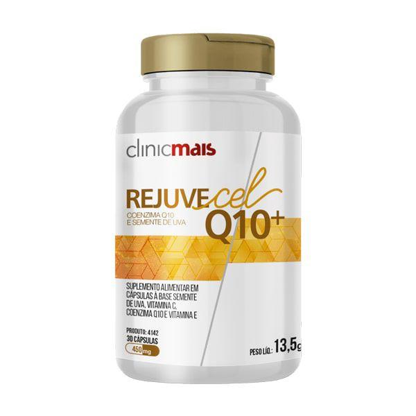 Rejuvecel Q10+ - 30 Cápsulas - ClinicMais