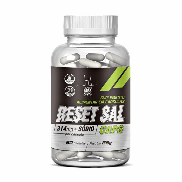 Reset Sal - 60 Cápsulas - Health Labs