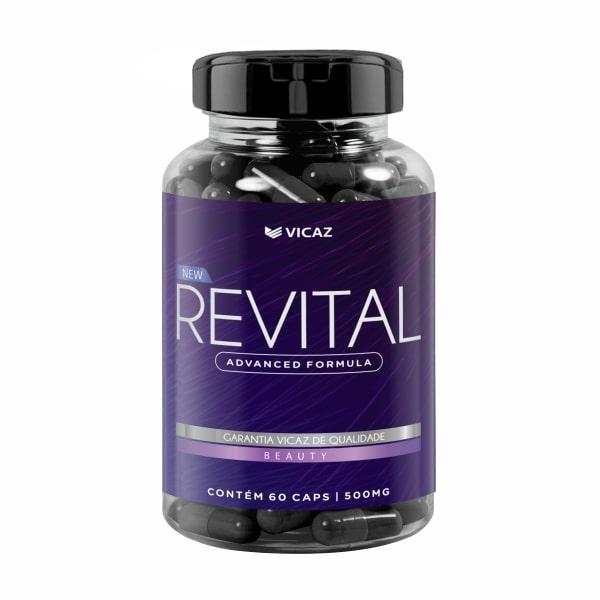 Revital - 60 Cápsulas - Vicaz