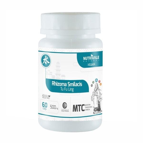Rhizoma Smilacis (Salsaparrilha) - 60 Cápsulas - NutriVale
