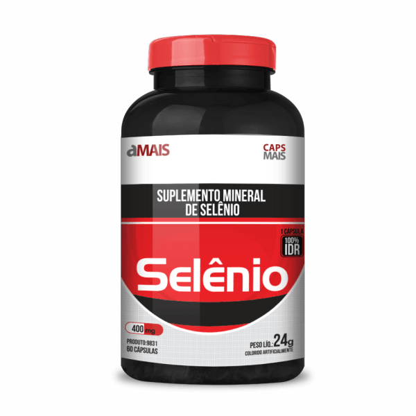 Selênio - 60 Cápsulas - ClinicMais