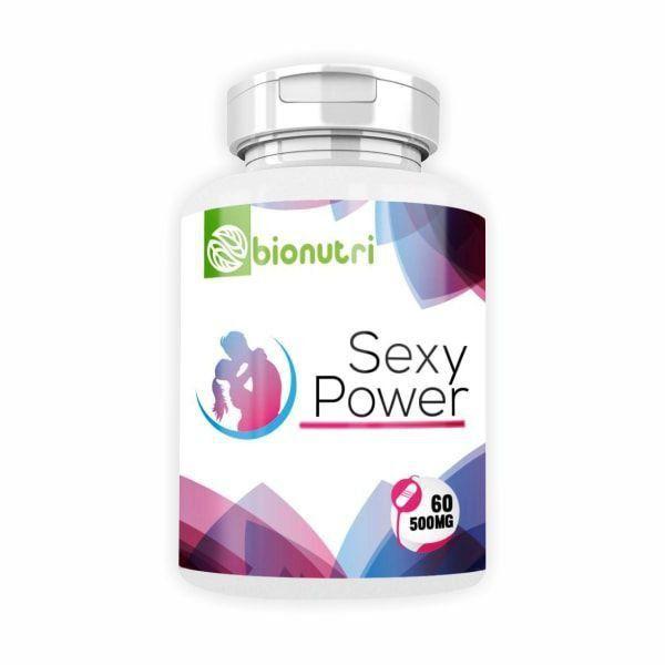 Sexy Power - 60 Cápsulas - BioNutri