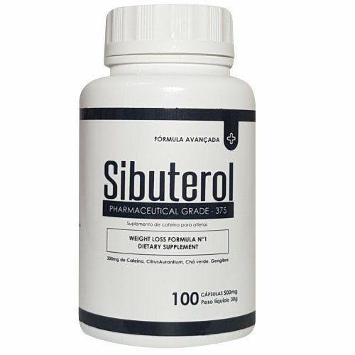 Sibuterol - 100 Cápsulas - Promoção 4 Unidades