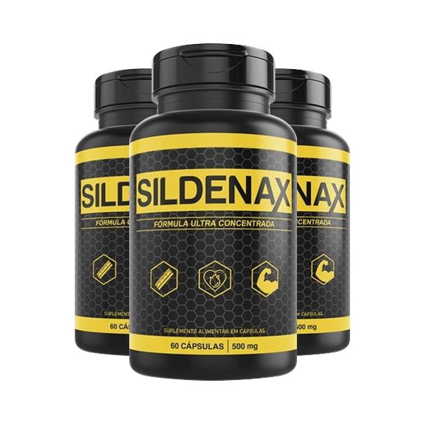 Sildenax - Promoção 3 Unidades