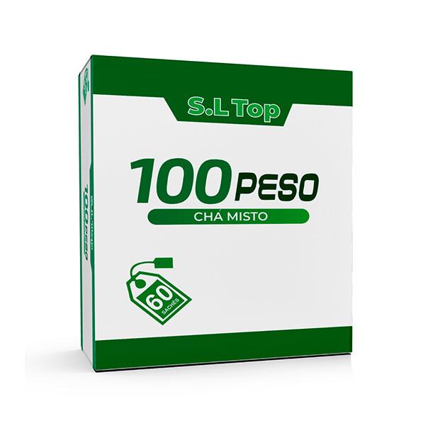 Slim Top 100 Peso Chá Misto - 60 Sachês