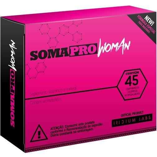 SomaPro Woman - 45 Comprimidos - Iridium Labs