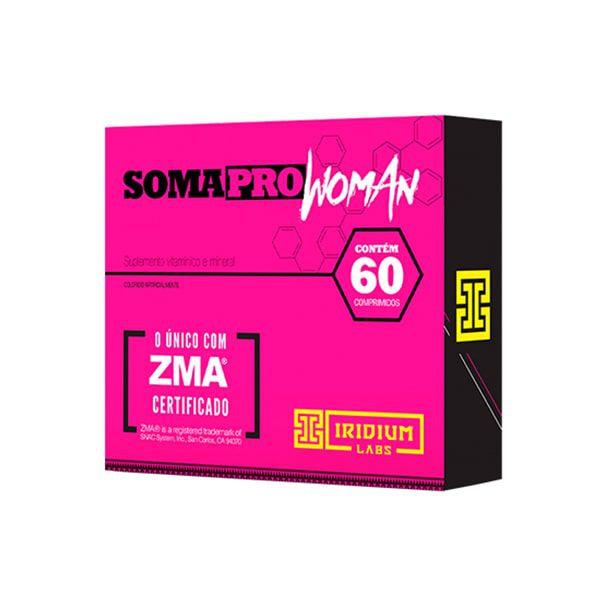 SomaPro Woman ZMA - 60 Comprimidos - Iridium Labs