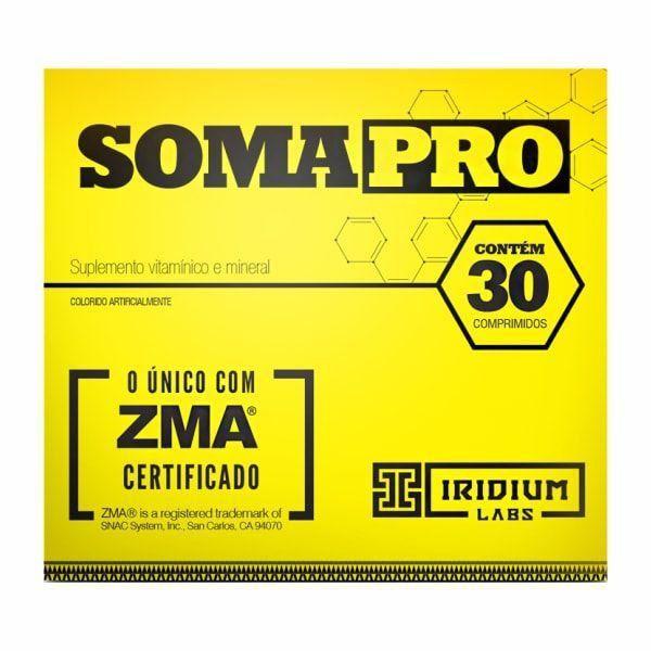 SomaPro ZMA - 30 Comprimidos - Iridium Labs