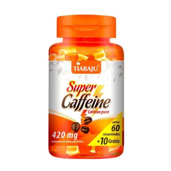 Super Caffeine - 60 + 10 Comprimidos - Tiaraju