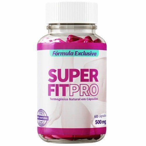 Super Fit Pro 500mg - 60 Cápsulas