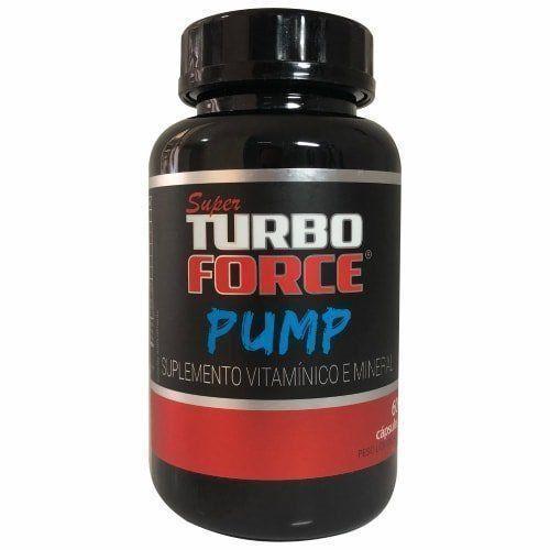Super Turbo Force Pump - 60 Cápulas - Intlab