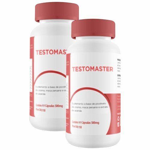 Testomaster - 60 Cápsulas - Promoção 2 Unidades