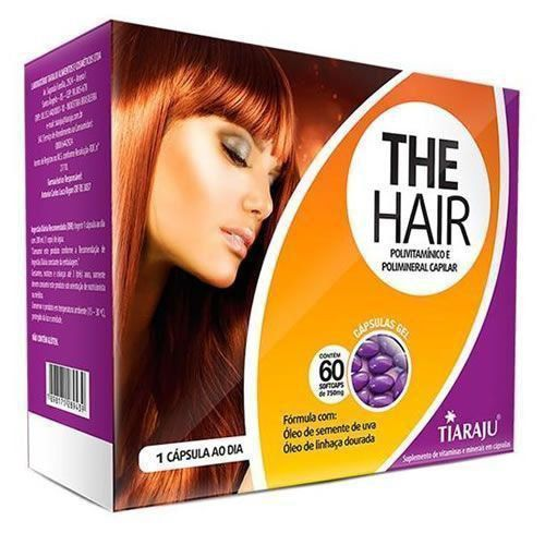 The Hair - 60 Cápsulas - Tiaraju