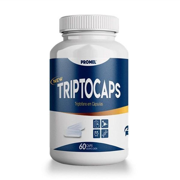 TriptoCaps - 60 Cápsulas - Promel