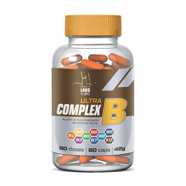 Ultra Complex B - 60 Cápsulas - Health Labs