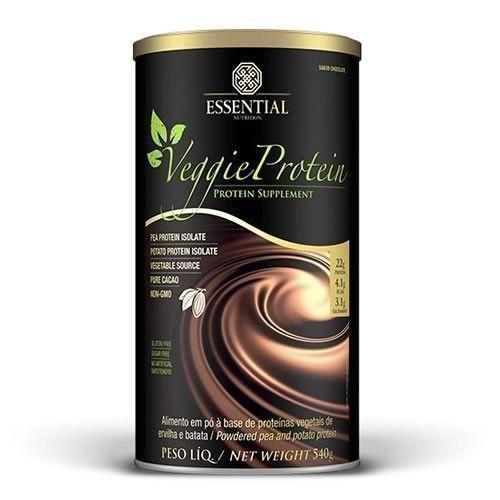 Veggie Protein (Cacau) - 540g - Essential Nutrition