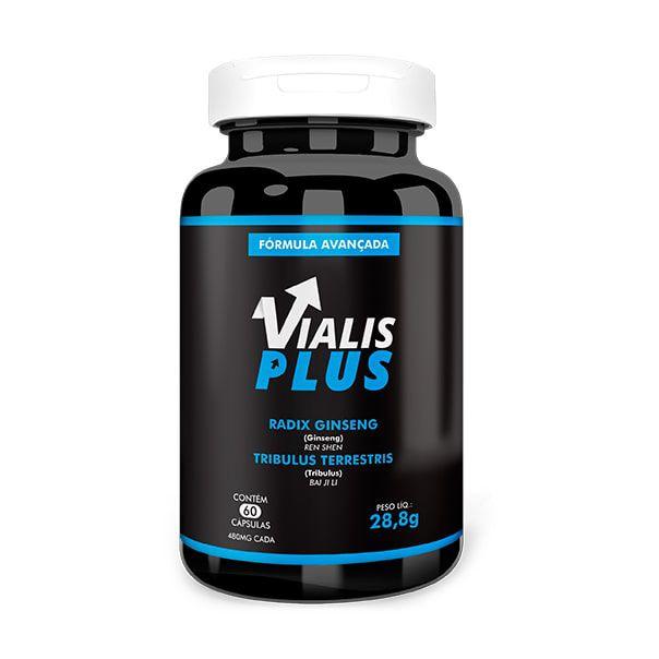 Vialis Plus - 60 Cápsulas - Vicaz