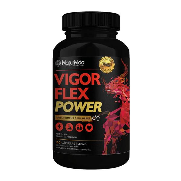 Vigor Flex Power - 30 Cápsulas - Naturivida