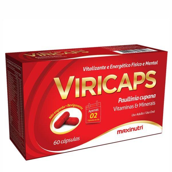 ViriCaps - 60 Cápsulas - Maxinutri