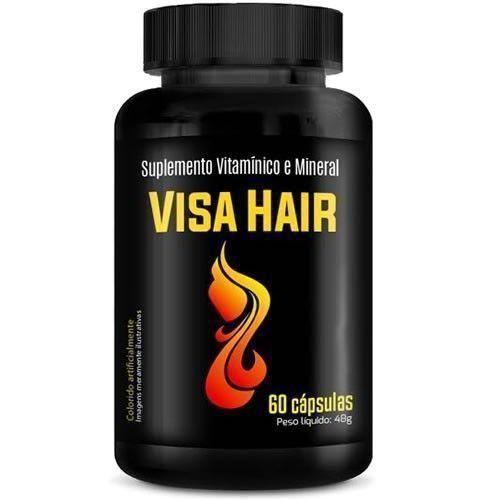 Visa Hair (Viva Hair) - 60 Cápsulas - Promoção 2 Unidades - Intlab